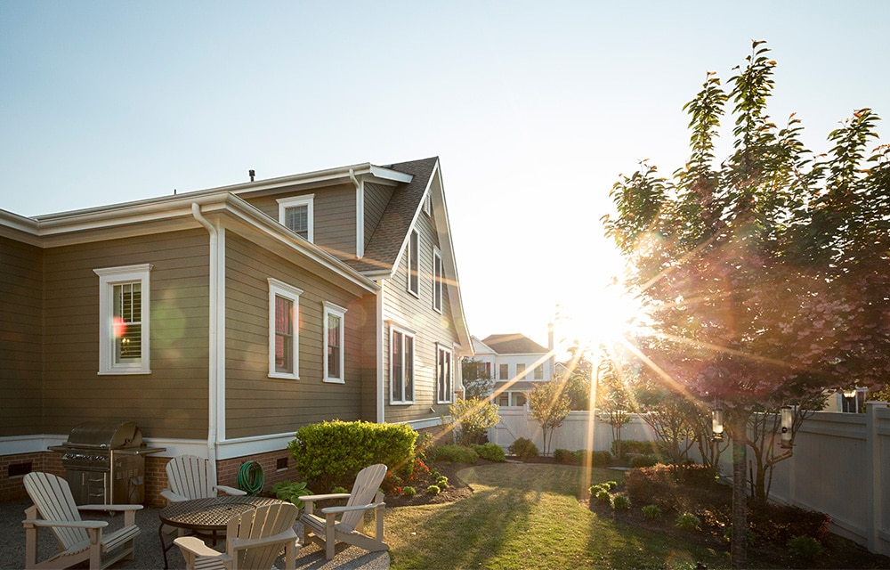 home with James Hardie Siding