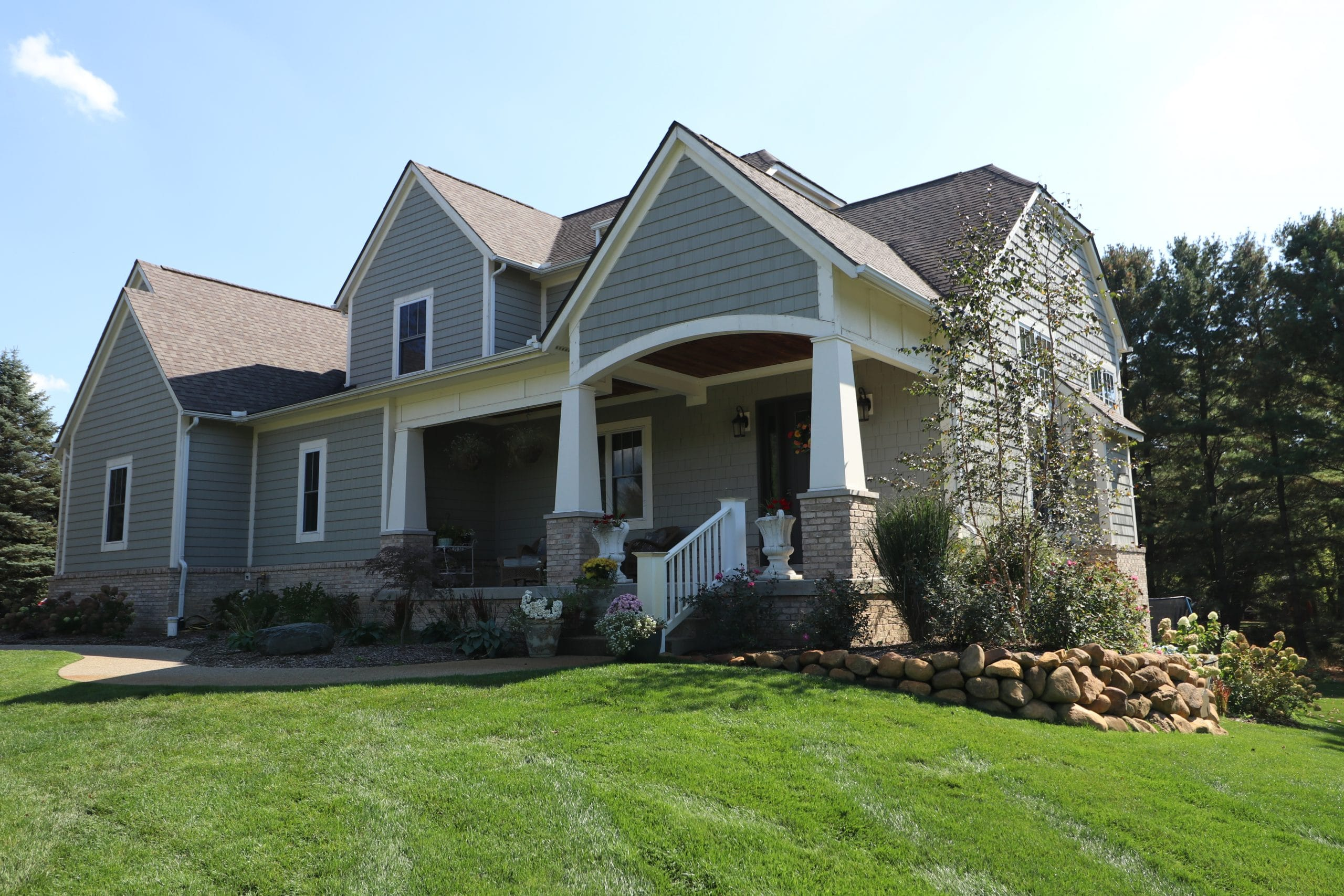 Hardie Board Siding Installation by Allied Construction