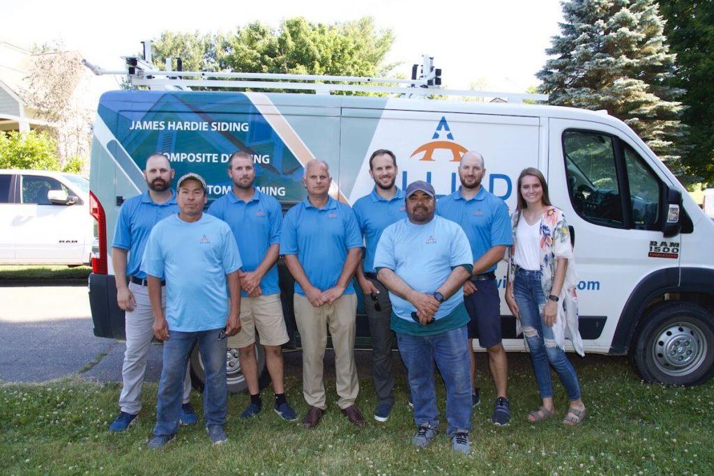 Allied Construction & Restoration team members