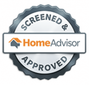 homeAdvisor screened and approved badge